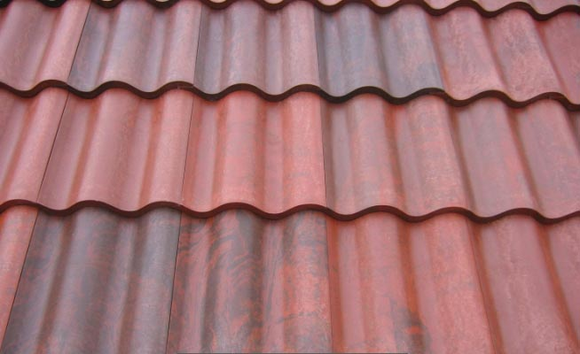 Barrel tile spanish tile titan roof systems Spanish clay tile